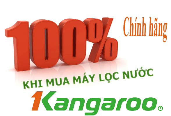 Doctorhouses cam kết 100% máy lọc nước Kangaroo chính hãng