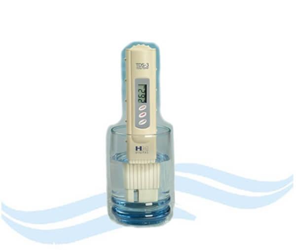Thử nước bằng TDS và điện phân trò lừa bịp thương mại