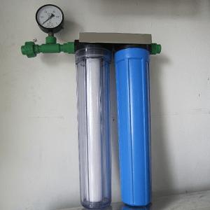 máy lọc nước đầu nguồn 2 cấp