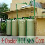 Hệ thống lọc nước giếng khoan khu công nghiệp
