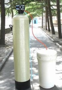 Thiết bị làm mềm nước sử dụng Autoval
