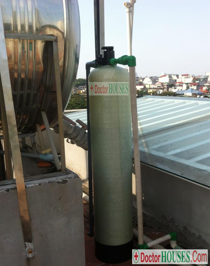 Cách khử mùi clo trong nước máy