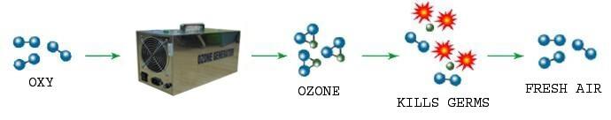Máy tạo khí Ozone khử mùi OMS3