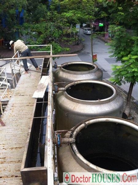 Công trình xử lý nước loại bỏ Asen trong nước tại khu đô thị Mỹ Đình 1