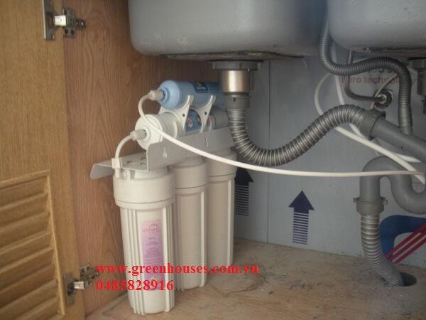 Hướng dẫn cách lắp đặt máy lọc nước NANO Geyser LB Nga