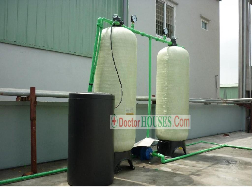 Hệ thống lọc nước giếng khoan nhiễm phèn, canxi tại hưng yên
