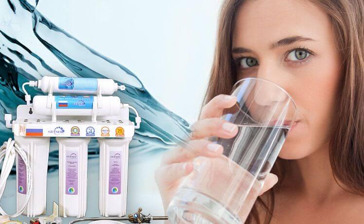 Sử dụng máy lọc nước đảm bảo sức khỏe con người