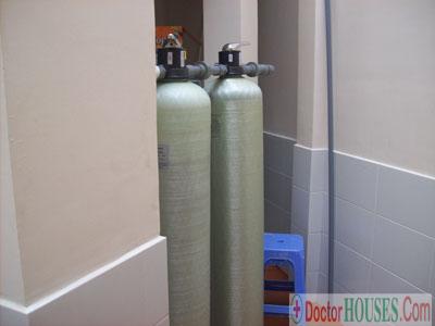 Thiết bị xử lý nước máy nhiễm mangan, sắt, Amoni