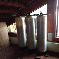 Xử lý nước máy tại KĐT Vĩnh Hoàng