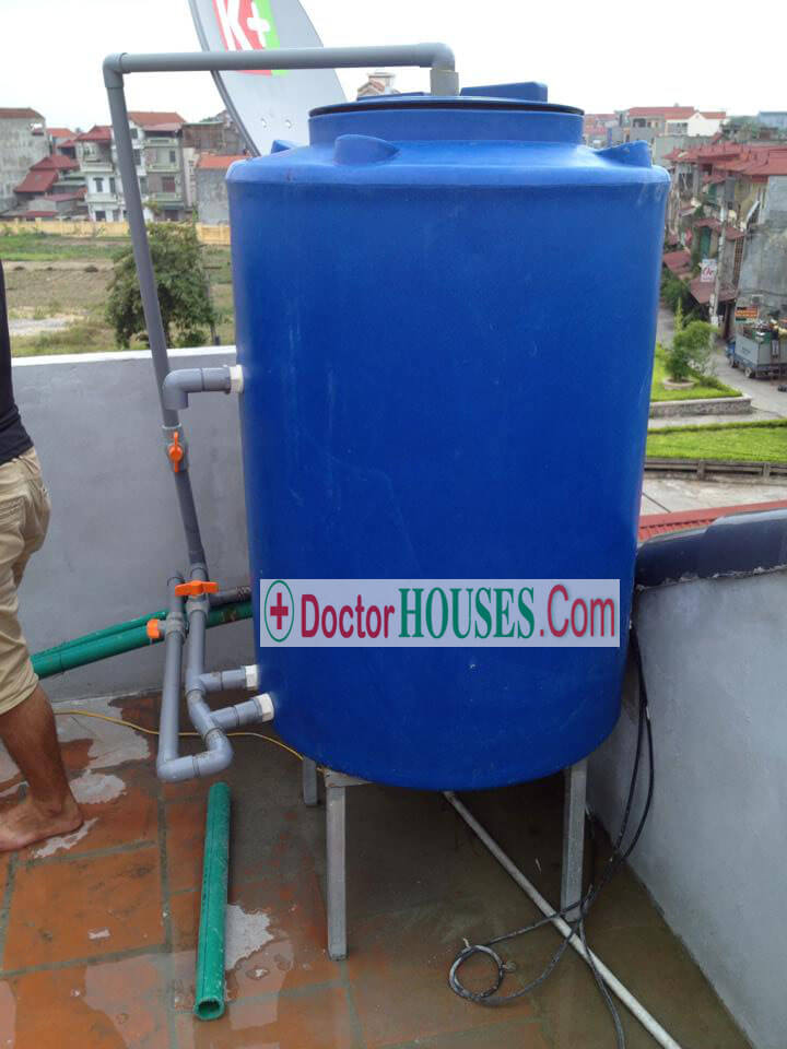 Công trình xử lý nước giếng khoan tại Hoài Đức