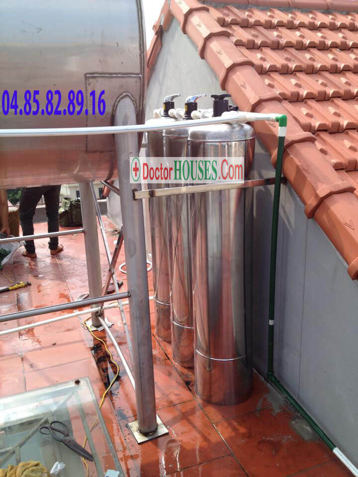 Xử lý nước giếng khoan cao cấp tại Ninh Hiệp