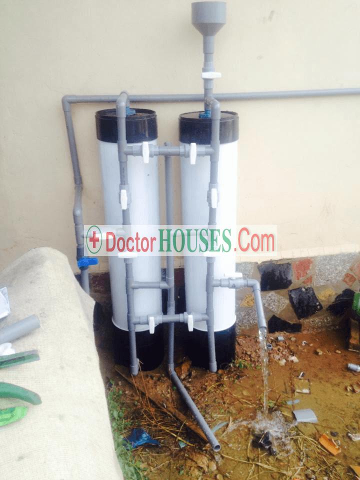 Cách xử lý nước giếng khoan tại nhà hàng
