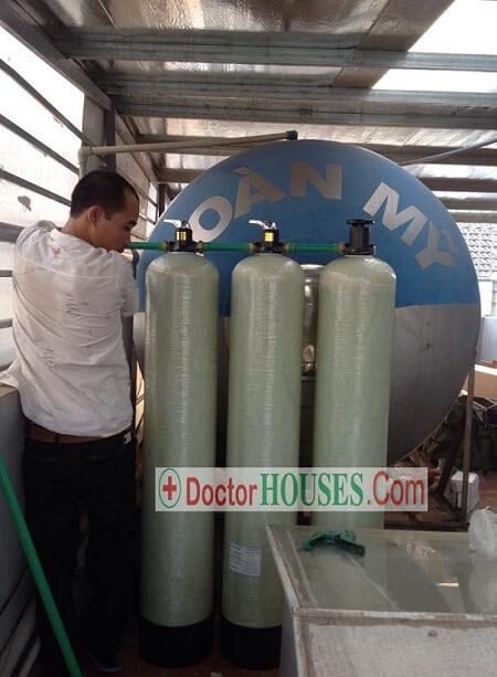 Xử lý nước cao cấp tại Khu đô thị Văn Phú - Hà Đông