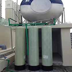 Công trình xử lý nước tại biệt thự Hyundai Hill State Villa Hà Đông