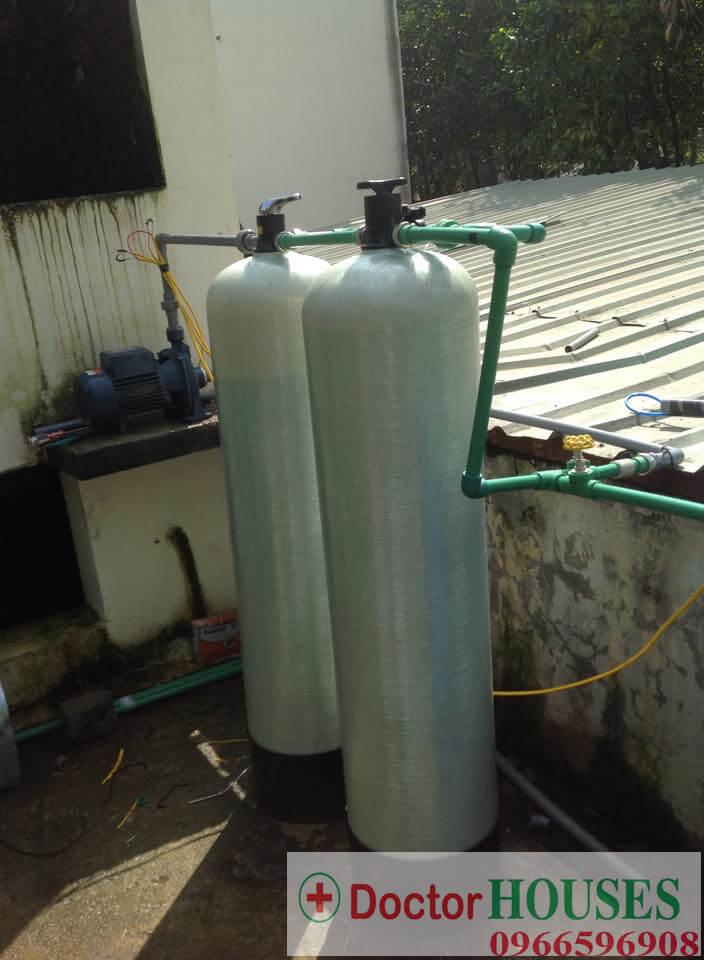 Công trình xử lý nước giếng khoan tại Xuân Mai - Hòa Bình