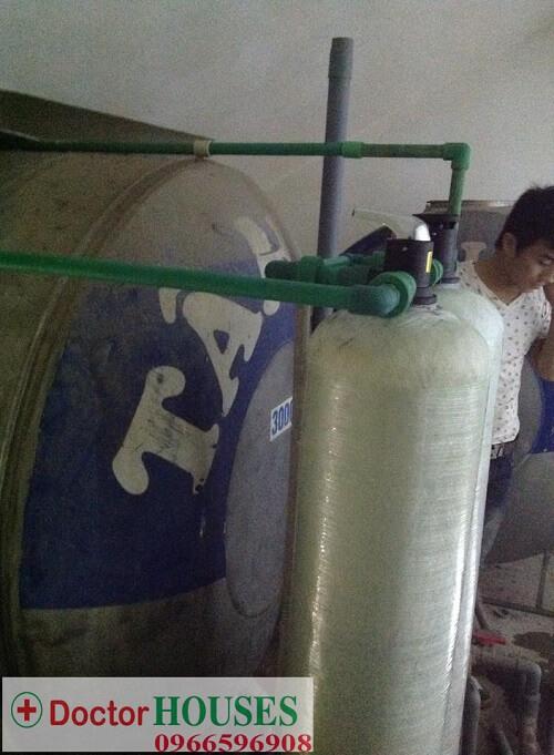 Công trình xử lý nước giếng khoan tại Ka Long - Móng Cái, Quảng Ninh