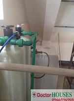 Công trình xử lý nước giếng khoan tại Ka Long – Móng Cái, Quảng Ninh