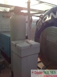 Xử lý làm mềm nước máy tại Cầu Giấy