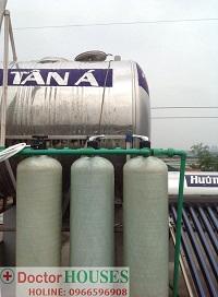 Xử lý nước sinh hoạt tại Trại Gà – Cầu Diễn – Bắc Từ Liêm