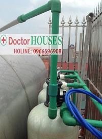 Xử lý nước giếng khoan tại chợ Ninh Hiệp – Gia Lâm