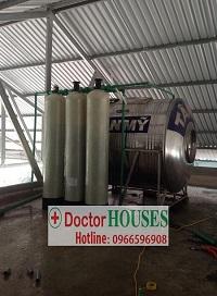 Xử lý nước giếng khoan tại Phú Sơn – Thái Nguyên