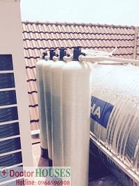 Xử lý nước tại Bằng Lăng 602 Vincom