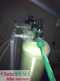 Xử lý nước máy nhiễm Asen, Canxi tại Biệt thự Gamuda – Hoàng Mai