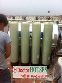 Xử lý nước tại BT Hoa Lan 818 Vinhome Riversides