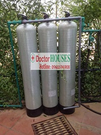 Xử lý nước giếng khoan tại Golf Club – Mỹ Đình