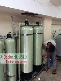 Xử lý nước giếng khoan tại Duy Tân – Cầu Giấy