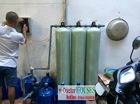 Xử lý nước giếng khoan tại Nhân Mỹ – Mỹ Đình