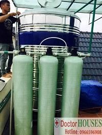 Xử lý nước tại biệt thự Hoa Lan 852 Vinhome Riversides