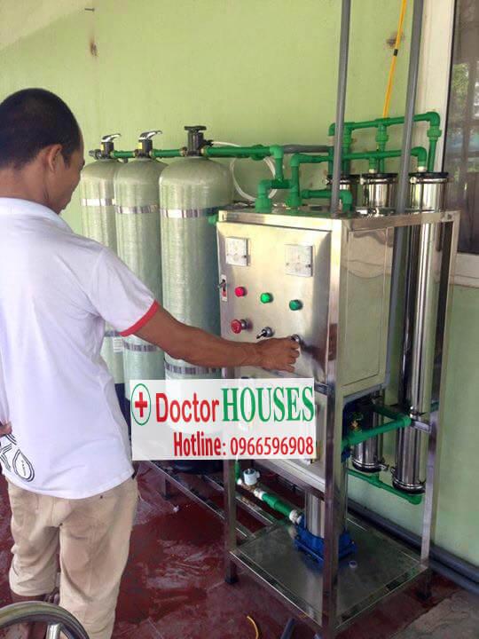 Chi tiết hệ thống dây chuyền lọc nước tinh khiết doctorhouses