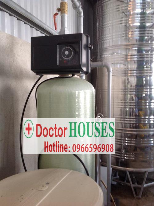 Hệ thống làm mềm nước cấp nồi hơi cao cấp tại Tuyên Quang