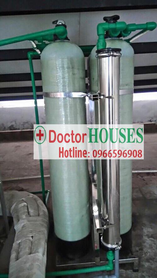Xử lý nước máy Cao Cấp tại Hoàng Hoa Thám – Hà Nội