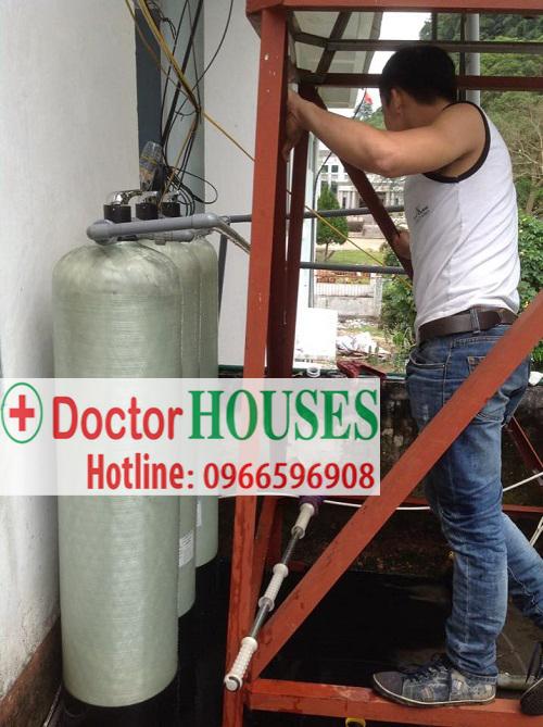 Xử lý nước giếng khoan CỰC BẨN tại Lào Cai