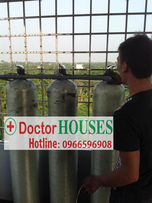 Xử lý nước nhiễm phèn sắt nặng tại Trực Ninh – Nam Định