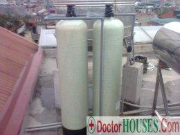 Long Biên: Cần gấp phương pháp xử lý nước nhiễm Canxi