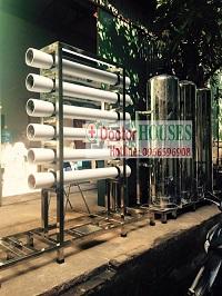 Dây chuyền lọc nước 1500 lít cho quy mô sản xuất lớn