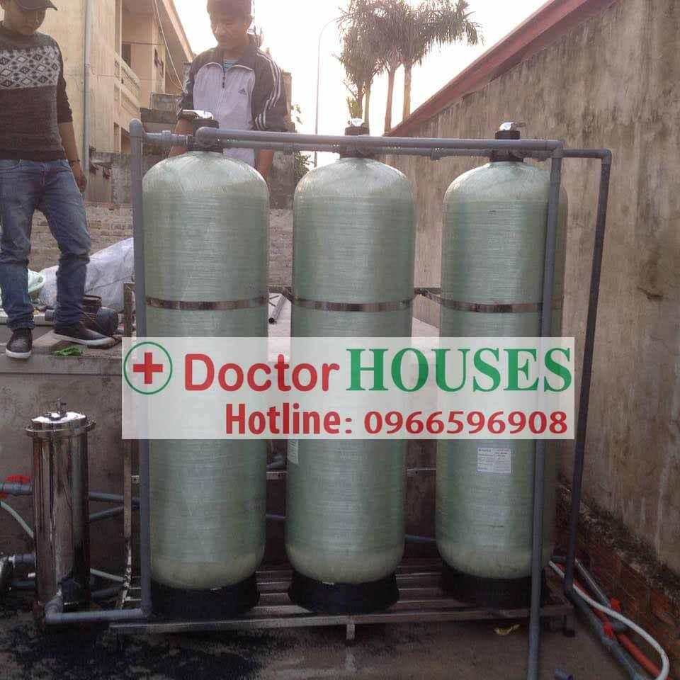 Xử lý nước giếng khoan huyện Nga Sơn - Thanh Hóa