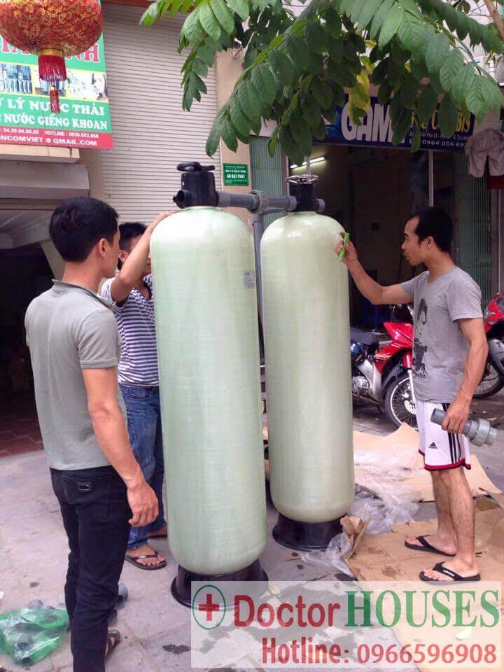 Hệ thống lọc nước giếng khoan công suất 10m3