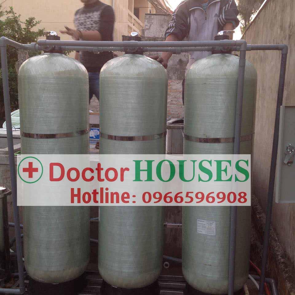 Xử lý nước giếng khoan huyện Nga Sơn – Thanh Hóa