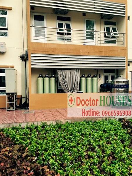 Công trình xử lý nước máy tại bệnh viên E – Hà Nội