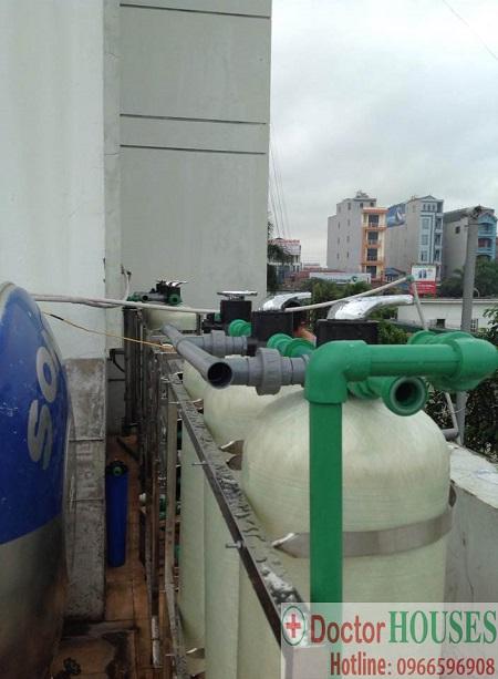 Lắp đặt 2 dây chuyền lọc nước tại trung đoàn cảnh sát