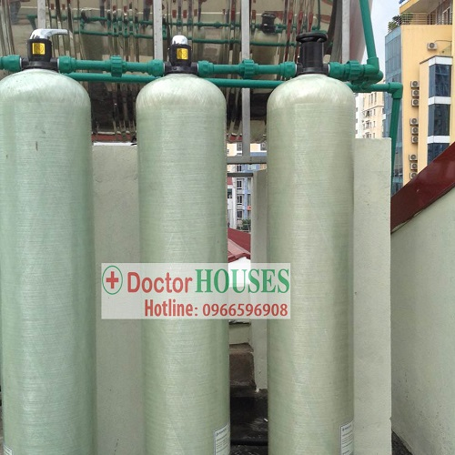 Xử lý nước máy nhiễm đá vôi, canxi sắt tại Phan Bội Châu