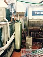 Xử lý nước nhiễm Amoni, kim loại nặng tại Sóc Sơn