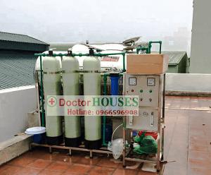 Dây chuyền lọc nước tinh khiết 250 lít/giờ tại Bắc Từ Liêm