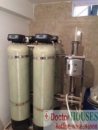 Xử lý nước sinh hoạt tại Biệt thự Nam Cường – Dương Nội