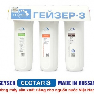 Máy lọc nước Nano Geyser Ecotar 3 – Model 2018