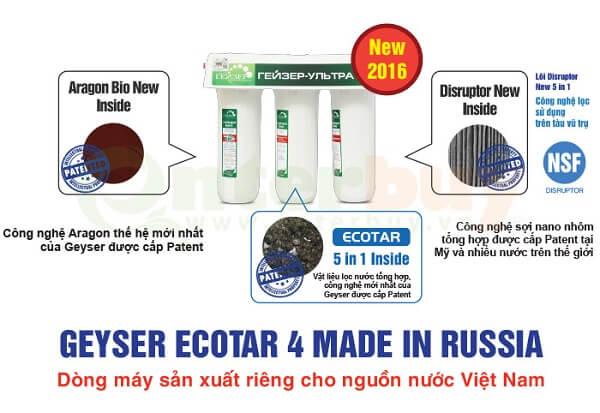Máy lọc nước Nano Geyser Ecotar 4